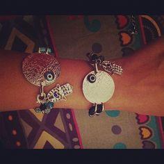 The Embellishment Project | Evil Eye Hamsa Hand Bracelet | Online Store Powered by Storenvy