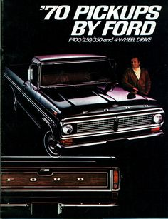 1970 Ford F-100 Pickup Truck | Flickr - Photo Sharing!