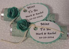 Mint to be  Green Mint to be wedding favor  by BulandsBathBoutique, $70.00