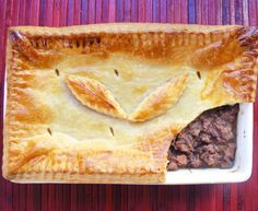 Ilse van der Merwe's springbok pie is the perfect recipe with sour cream. Find these and other sour cream recipes on EatOut Venison Recipes, Pie Recipes, Cream Recipes, Dinner Recipes, Steak And Stout Pie, Ma Baker, My Favorite Food, Favorite Recipes, South African Recipes