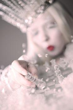 ice queen | Ice Queen Editorial in Harlow Magazine | Doe Deere Blogazine