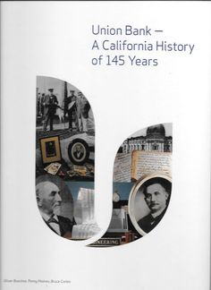 UNION BANK A CALIFORNIA HISTORY OF 145 YEARS 2009 HARDCOVER PICTORIAL BOARDS