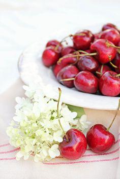 le cerises frais
