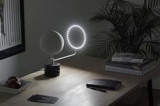 Beautifully detailed 3D printed moon brings lunar light into your home