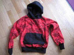 Krea Krumspring: Spidy hoodie