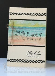 Watercolor Wetlands by hlw966 - Cards and Paper Crafts at Splitcoaststampers