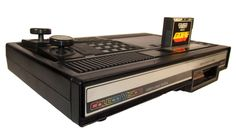ColecoVision console. Before I had Atari, I had this with Tron and Smurfs!