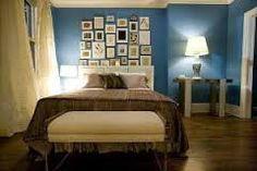 Blue teal - pareti blu per la camera da letto - #interior #design