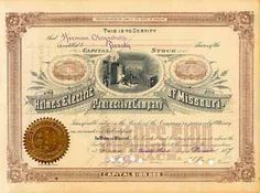 Holmes Electric Protective Co. 20 shares à 100 $ 23.12.1887.