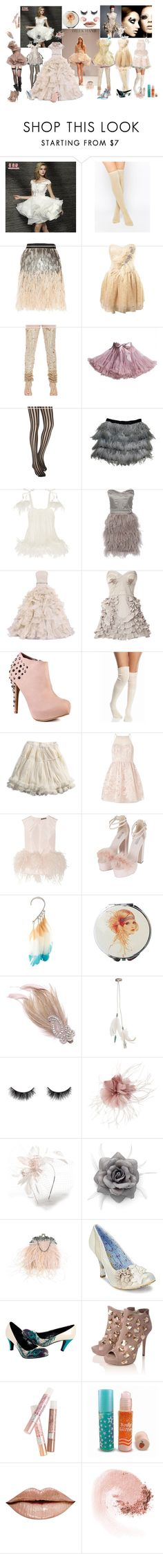 """I'm Not too Old to go to Prom, Right?"" by verysmallgoddess ❤ liked on Polyvore featuring MSSBridal, Leg Avenue, Matthew Williamson, Miss Selfridge, Manish Arora, Alexander McQueen, Agent Provocateur, Promise Shoes, Free People and American Eagle Outfitters"