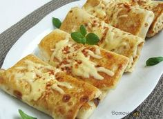 Polish Recipes, Dumplings, Crepes, Avocado, Tacos, Food And Drink, Cooking Recipes, Meals, Dishes