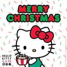 Hello Kitty Café / Merry Christmas Hello Kitty Christmas Tree, Happy Merry Christmas, Hello Kitty Art, Hello Kitty Themes, Hello Hello, Hello Kitty Backgrounds, Hello Kitty Wallpaper, Sanrio Wallpaper, Kitty Images