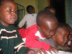 Give Back Orphans like Dan, Otieno, and Naomi at the Nairobi Children's Home need donations. Photo by Tessa Clarance.