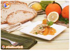 Insalata di baccalà e arance