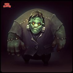 Zombie Frank by Sephiroth-Art