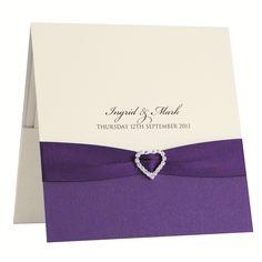 Albany invitación de boda hechos a mano y papelería de la boda hecha a mano