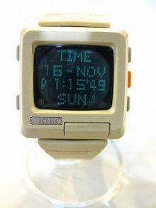 画像1 Retro Watches, Vintage Watches, Cool Watches, Watches For Men, Digital Watch Face, Tag Heuer, Electrical Projects, Retro Arcade, Old Computers