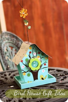 A fun story about trying to sneakily deliver and suprise a friend on her birthday with a cute bird house. What a fun and thoughtful birthday gift!