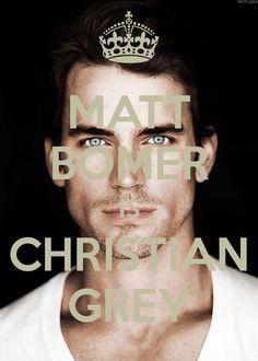 Matt Bomer IS Christian Grey
