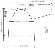 Pulôver DROPS com raglan e ponto de arroz duplo, tricotado de cima para baixo ou em top down, em Cotton Merino. Do S ao XXXL. Modelo gratuito de DROPS Design.