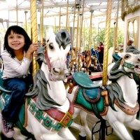 Enjoy a full day of free rides on San Francisco's historic 1906 carousel. The newly-restored carousel located in Yerba Buena Gardens at the Children's Creativity Museum features hand-carved wooden animals, including giraffes, rams, dragons, horses and even a lion...oh my! All ages will delight in this beloved merry-go-round. *FAVORITE*