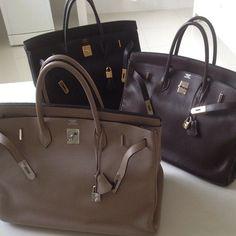 3 #Hermes #birkin bags no big deal
