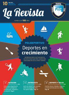 Cliente: Paraná Rowing Club Trabajo: diseño y diagramación de revista institucional
