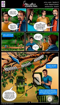 Sivappu Kal Mookuthi (a.a Girl with a Red Nose Ring): Page 22 Comic Book In Hindi, Online Comic Books, Comics Online, Horror Books, Horror Comics, Daily Home Workout, At Home Workouts, Tamil Comics, Indian Comics