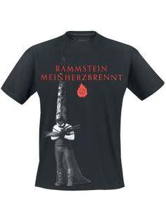 Mein Herz brennt por Rammstein camiseta $24.99 € en EMP... la mayor tienda online de Europa de Merchandising oficial de bandas de Metal, Hard Rock , Heavy, Ropa Gótica , Punk y todo lo que te hace falta para vivir el Rockstyle en toda su dimensión. EMP Rock Mailorder España