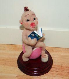 Töpfchen Baby Girl von IFELTTHAT1 auf Etsy