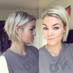 Beliebte Kurze Frisuren Für Blondinen Mit Dünnem Haar Für einige Menschen, die kurze Haarschnitte für Blondinen mit dünnem Haar ist es wichtig zu gehen...