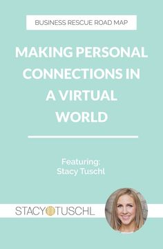 In this episode, Melissa and Stacy discuss the importance of developing personal connections with your audience.