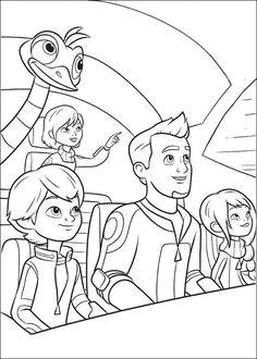 Miles from Tomorrowland ( Miles do Futuro  (título em Portugal) ou Miles do Amanhã  (título no Brasil) ) é uma série de desenho anima...
