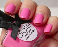 Ciate Fairground Coll. swatches: Candy Floss