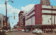 My favorite store to shop in when I was a girl.  My mom made me dress up to take the bus to shop at Murphy's.