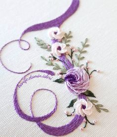 Simple Embroidery, Embroidery Patterns, Hand Embroidery, Sewing Crafts, Cross Stitch, Couture, Decoration, Crochet, Floral