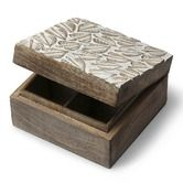 Boxes & Baskets   Fair Trade Homewares Scattered Leaves Keepsake Box $19.95 To place an order for this beautiful home decor items, click on the link below www.oxfamshop.org... #oxfam #oxfamshop #fairtrade #shopping #homedecor
