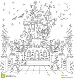Halloween Coloring Pages Bat Sheets Mandala For Girls Book Color Crayons