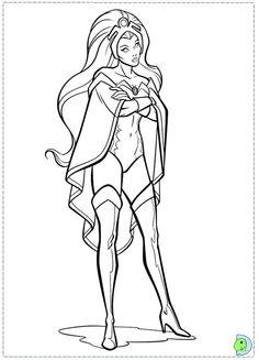 female superhero coloring pages printable woman Pinterest