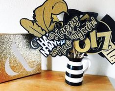 New Years Eve Photo Booth Props | New Years Eve Party | New Years Eve Decorations | New Years Photo Booth Props | New Years Party | New Year