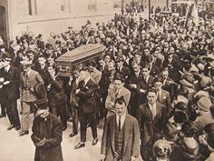 The funeral of 24-year-old Blessed Giorgio Frassati.