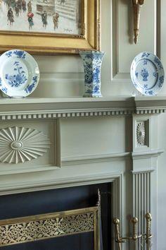 Fireplace Detail - John B. Murray Architect