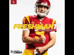 USC goes on the road for the first time in 2019 when it visits independent BYU, with the contest airing on ABC. Byu Football, College Football, Football Helmets, Usc Athletics, Teachers Week, Usc Trojans, Play, Collage Football