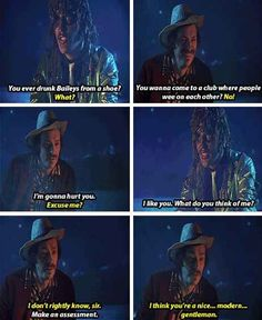 When Old Gregg had some ~interesting~ propositions for Howard.