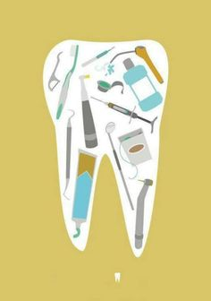 Tooth art. #dentistry