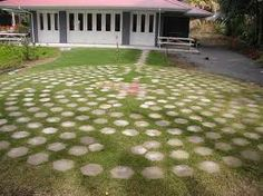 walking labyrinth designs for the garden paint the stones or add sayings to each