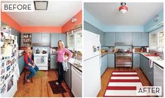 A Non-White, Real Life 50's Kitchen Makeover » Curbly | DIY Design Community