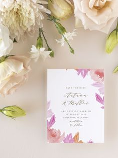Water Rose Wedding Save the Date Cards Vintage Save The Dates, Unique Save The Dates, Floral Save The Dates, Wedding Save The Dates, Luxury Wedding Invitations, Graduation Party Invitations, Elegant Invitations, Wedding Stationary, Save The Date Magnets