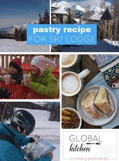 Toblerone pastry recipe for apres-ski in the ski lodge http://www.skimbacolifestyle.com/2012/11/toblerone-pastry-danish-recipe.html