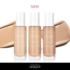 #comingsoon LIFTING FOUNDATION A unique rejuvenating formula that helps your skin fight the signs of ageing! It adds glow, conceals imperfections and fine lines. Excellent for the skin that is dull as a result of ageing or external factors. -unique combination of anti-ageing ingredients with corrective-concealing pigments - the effect of velvet smooth and uniform complexion Available shaded: CREAM - LIGHT BEIGE - GOLDEN BEIGE